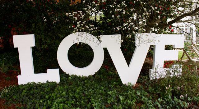 LETRAS LOVE EN POREXPAN