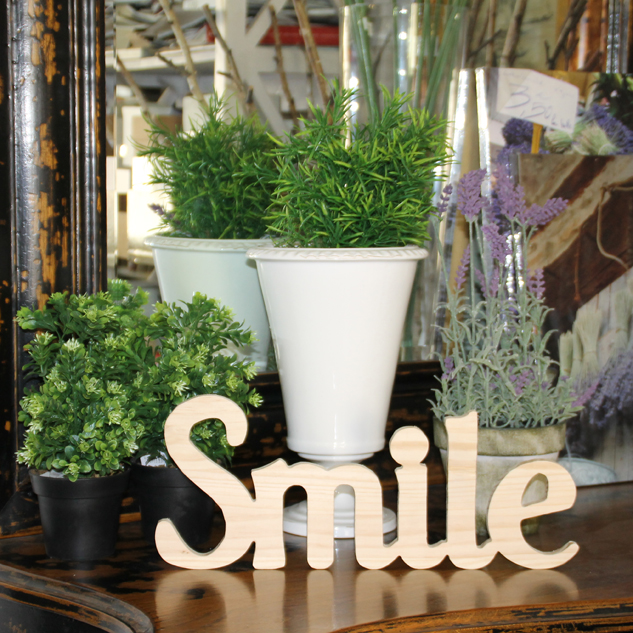 "LETRAS DECORATIVAS ""SMILE"""