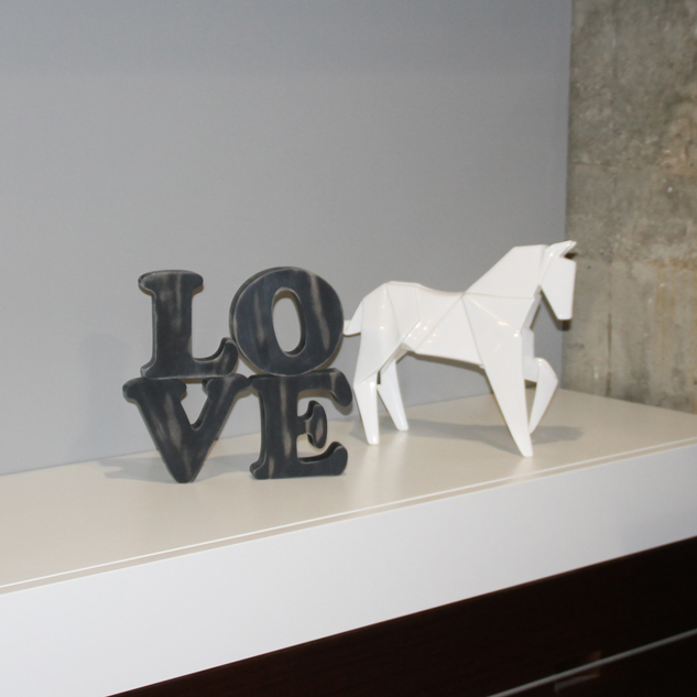 """LOVE"" DECORATIVO VINTAGE"