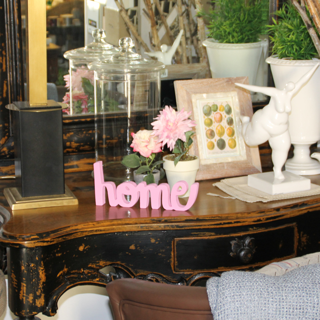 "LETRAS DECORATIVAS ""Home"""