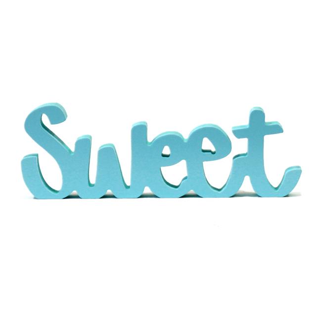 Letras decorativas sweet venta y alquiler de letras - Letras decorativas pared ...