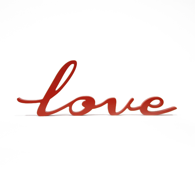 "LETRAS DECORATIVAS ""LOVE"""