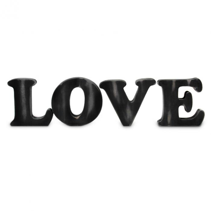 "Letras decorativas ""LOVE"" en madera"